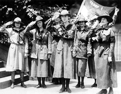 Meisjes scouts